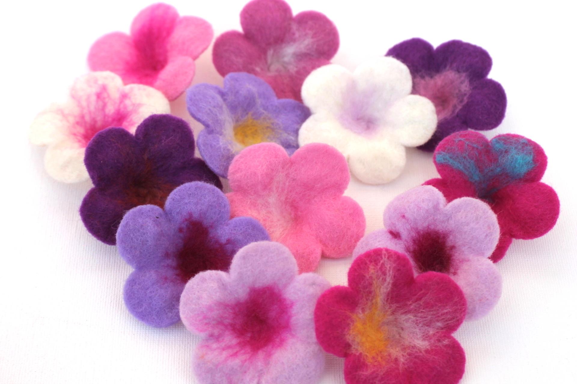 Mafiz.de flowers applique flower application tinker flowers